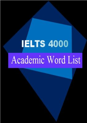 Book cover IELTS 4000 Academic Word List