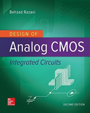 Book cover Design of Analog CMOS Integrated Circuits