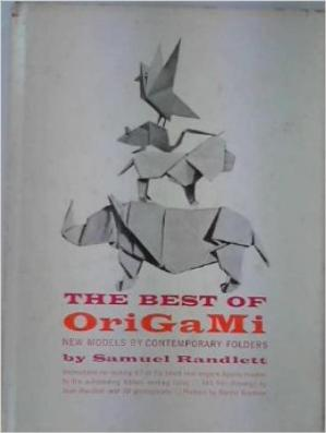 Book cover the Best of Origami