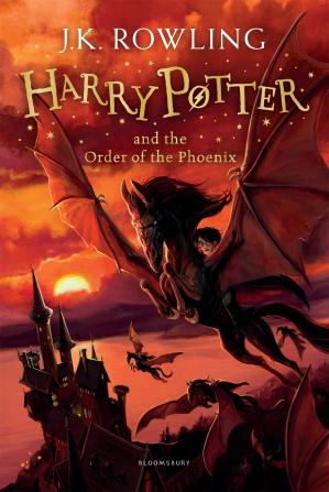 Book cover Harry Potter and the Order of the Phoenix (AUDIOBOOK 5)