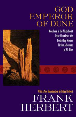 Book cover God Emperor of Dune