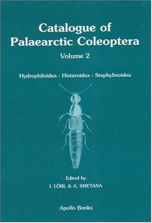 A capa do livro Catalogue of Palaearctic Coleoptera, Vol. 2: Hydrophiloidea - Histeroidea - Staphylinoidea