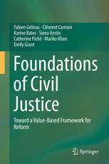 Εξώφυλλο βιβλίου Foundations of Civil Justice: Toward a Value-Based Framework for Reform
