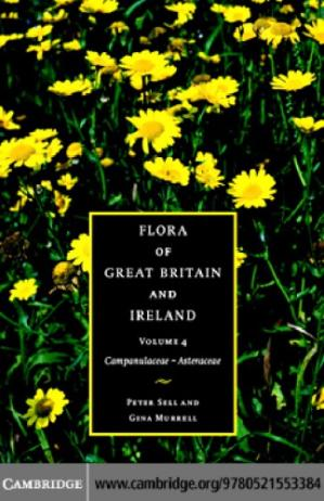 A capa do livro FLORA OF GREATBRITAIN AND IRELAND