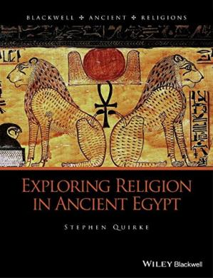 Book cover Exploring Religion in Ancient Egypt