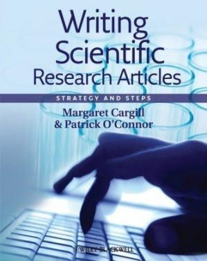 Book cover Writing Scientific Research Articles: Strategy and Steps