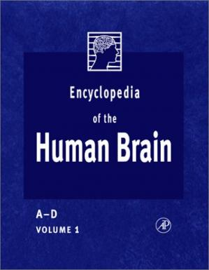 पुस्तक कवर Encyclopedia of the Human Brain, Four-Volume Set