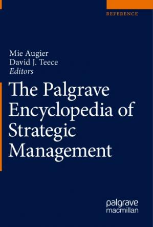 Book cover The Palgrave Encyclopedia of Strategic Management