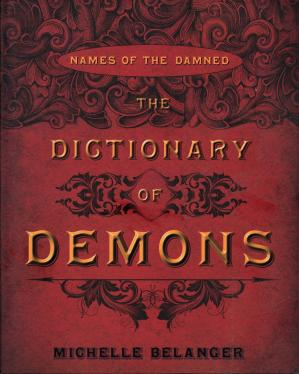 Book cover The_Dictionary_of_Demons_Names_of_the_Damned