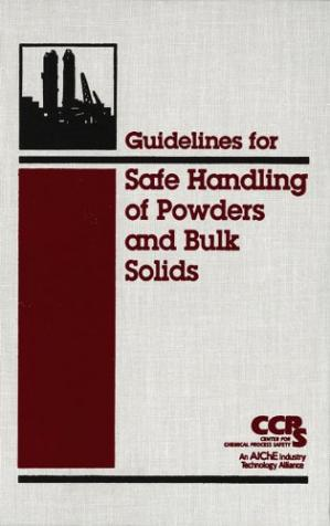 Portada del libro Guidelines for Safe Handling of Powders and Bulk Solids