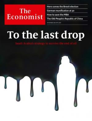 Book cover The Economist (November 2nd 2019)