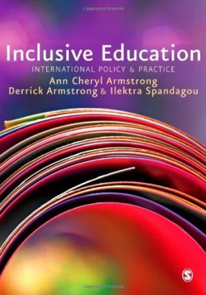Book cover Inclusive Education: International Policy & Practice