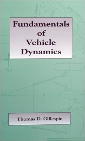 Book cover Fundamentals of Vehicle Dynamics (R114)