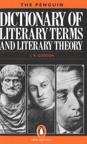 表紙 The Penguin Dictionary of Literary Terms and Literary Theory