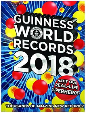 Sampul buku Guinness World Records 2018