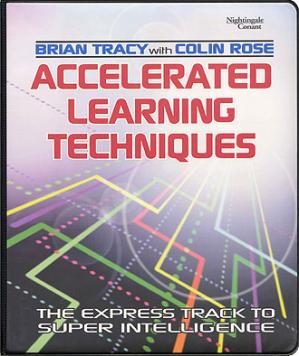 Book cover Brian Tracy- Accelerated Learning