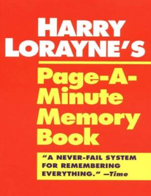 Book cover Page-a-Minute Memory Book