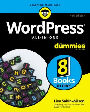 表紙 Wordpress All-In-One for Dummies