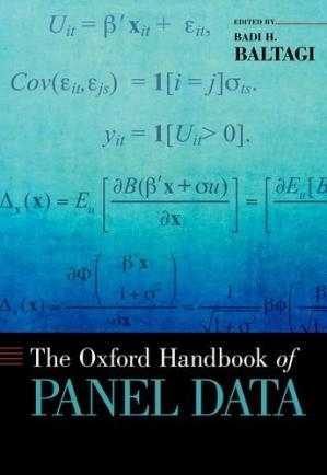 غلاف الكتاب The Oxford Handbook of Panel Data