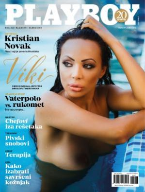 Book cover Playboy Croatia