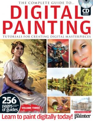 Copertina The Complete Guide to Digital Painting. Volume Three