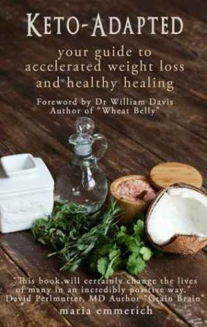 Обкладинка книги Keto-Adapted: Your Guide to Accelerated Weight Loss and Healthy Healing