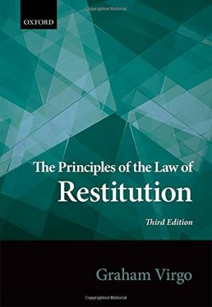 Buchdeckel The principles of the law of restitution