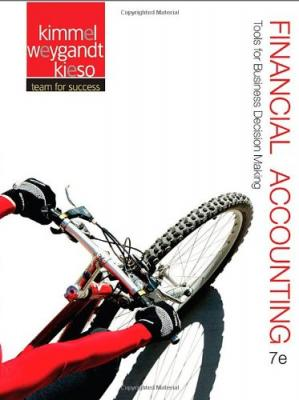 Book cover Financial Accounting: Tools for Business Decision Making, 7th Edition