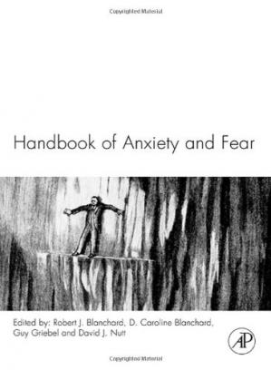A capa do livro Handbook of Anxiety and Fear (Handbook of Behavioral Neuroscience, Volume 17)