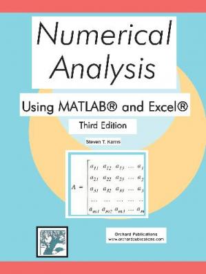 غلاف الكتاب Numerical analysis using MATLAB and Excel