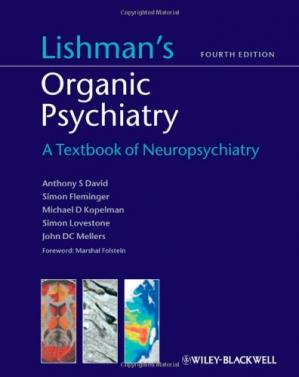Book cover Lishman's organic psychiatry: a textbook of neuropsychiatry