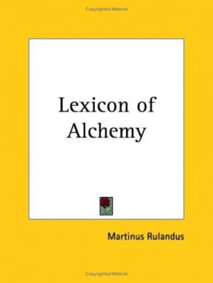 Book cover Lexicon of Alchemy