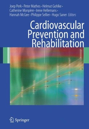 A capa do livro Cardiovascular Prevention and Rehabilitation