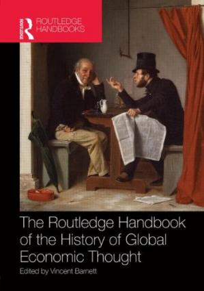 Εξώφυλλο βιβλίου Routledge Handbook of the History of Global Economic Thought