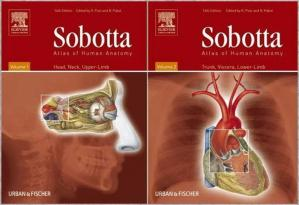 Book cover Sobotta Atlas of Human Anatomy Volume 1-2