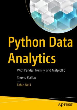 书籍封面 Python Data Analytics: With Pandas, NumPy, and Matplotlib