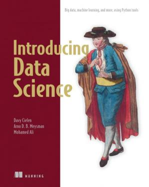 Εξώφυλλο βιβλίου Introducing Data Science: Big Data, Machine Learning, and more, using Python tools