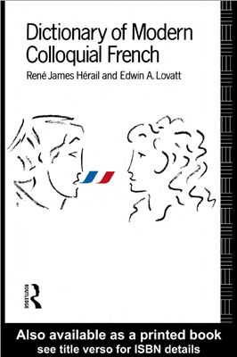 Book cover Dictionary of Modern Colloquial French