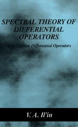 पुस्तक कवर Spectral Theory of Differential Operators: Self-Adjoint Differential Operators