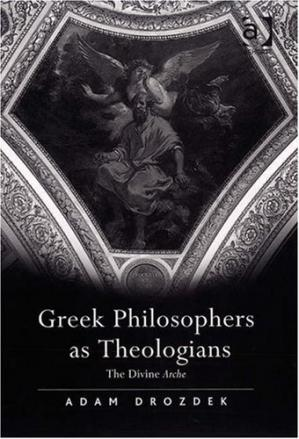 Book cover Greek Philosophers as Theologians