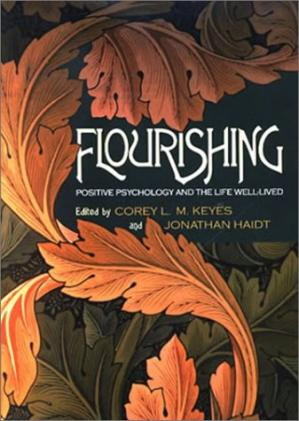Book cover Flourishing: Positive Psychology and the Life Well-Lived