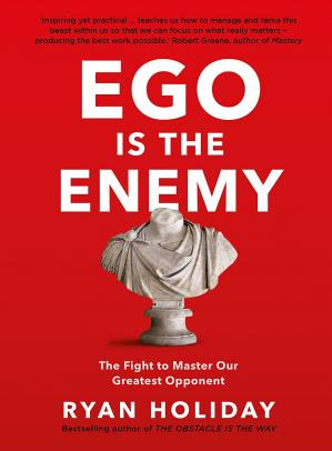 书籍封面 Ego is the Enemy