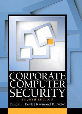 A capa do livro Corporate Computer Security