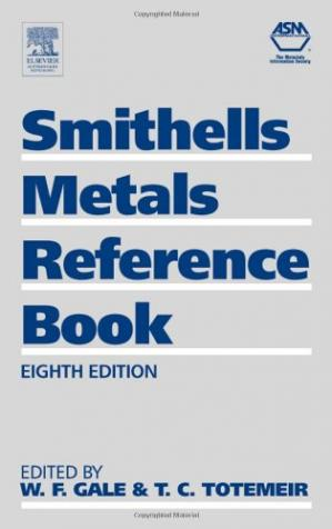 Book cover Smithells Metals Reference Book
