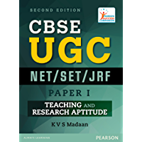 Book cover Pearson UGC NET/SLET General Paper I Teaching Research Aptitude