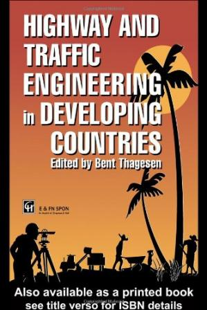 Sampul buku Highway and Traffic Engineering in Developing Countries