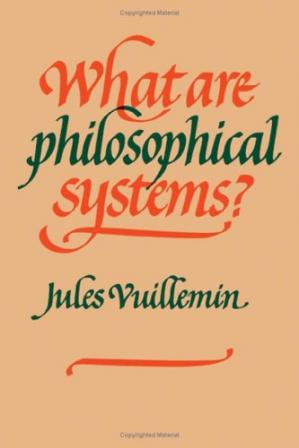 Book cover What Are Philosophical Systems?