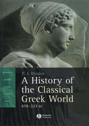 Book cover A History of the Classical Greek World, 478 - 323 BC
