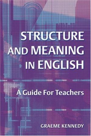 Copertina Structure and Meaning in English: A Guide for Teachers