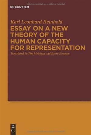 Portada del libro Essay on a New Theory of the Human Capacity for Representation